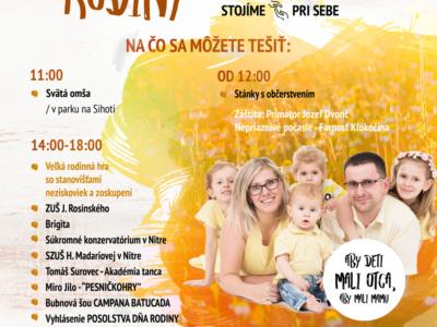 Deň rodiny 2018 – Nitra